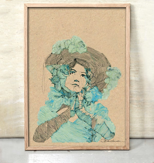 Image of Boheme Woman #Blue