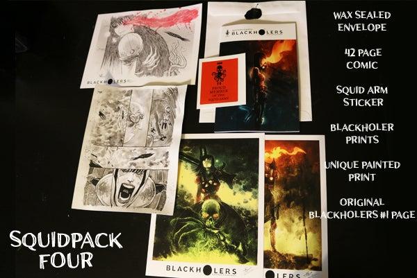 Image of BLACKHOLERS #1 & SQUIDPACKS