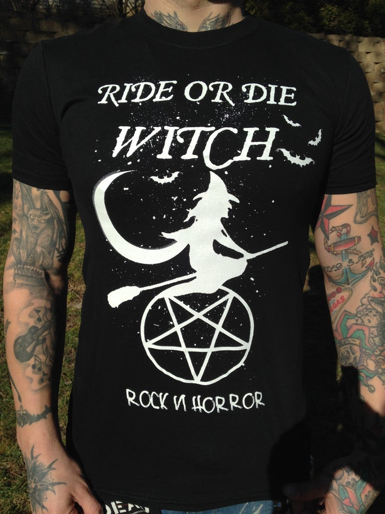 Image of Ride Or Die Witch - Tee