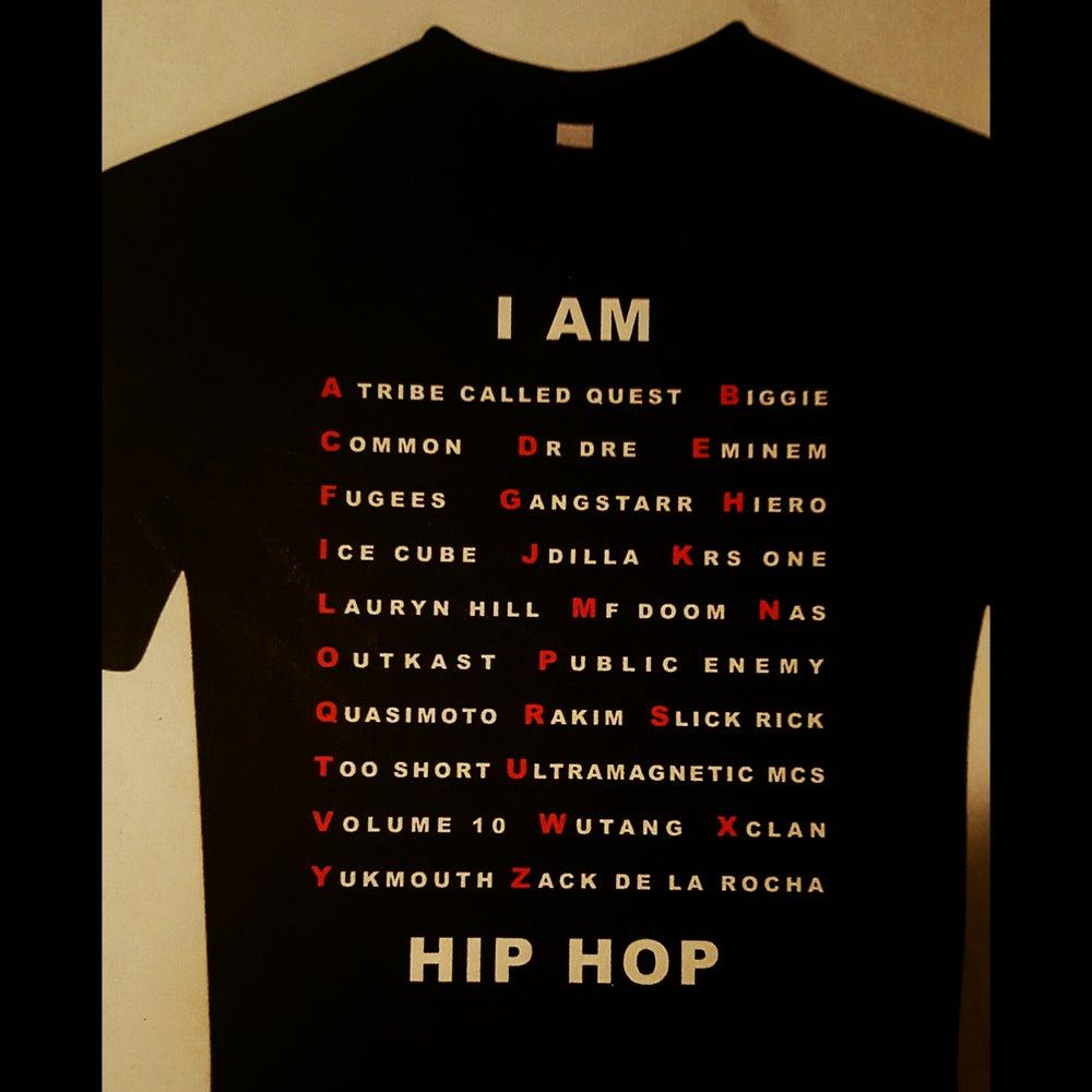"""Image of """"A to Z"""" Alphabet Shirt"""
