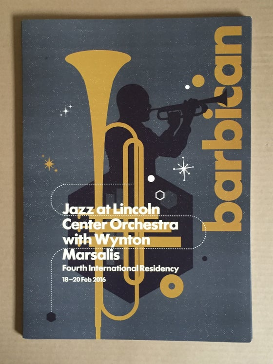 Image of Jazz At Lincoln Centre Print For Barbican