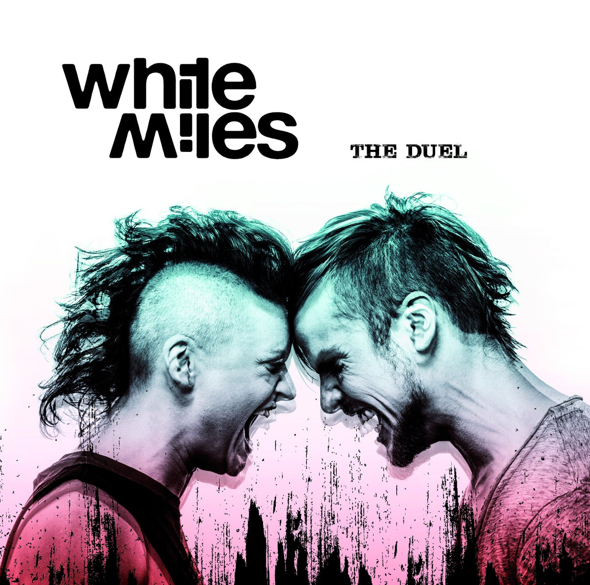 "Image of White Miles ""The Duel"" CD"