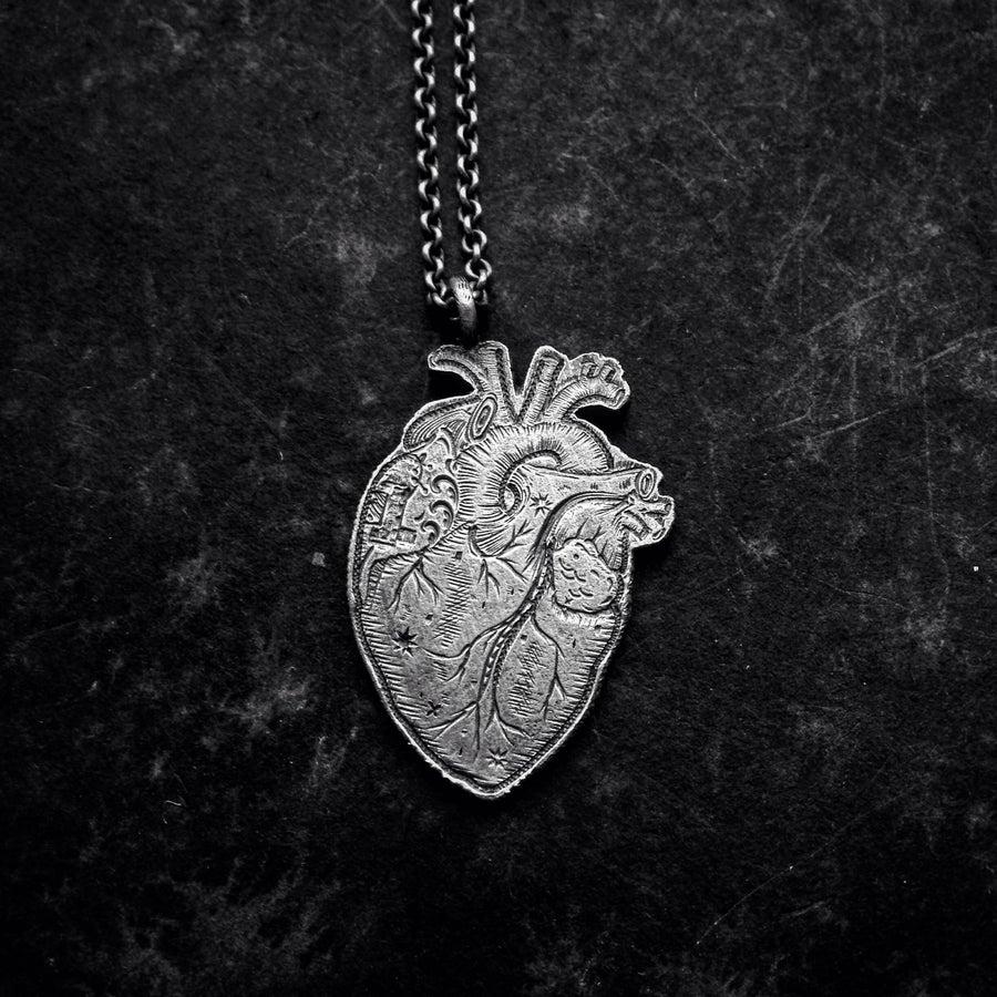Image of bleeding heart pendant