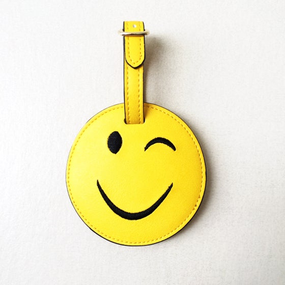 Image of Smiley Face Poop Bag Holder
