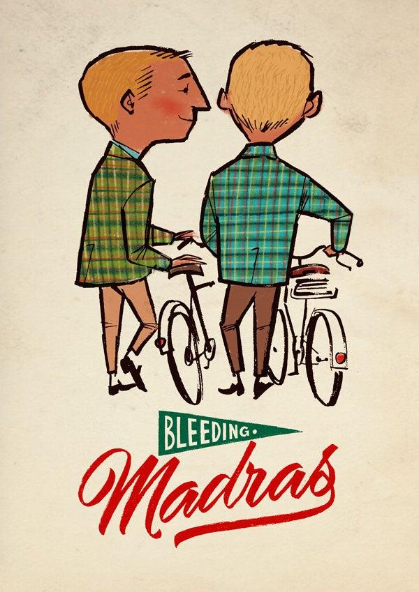 Image of bleeding madras