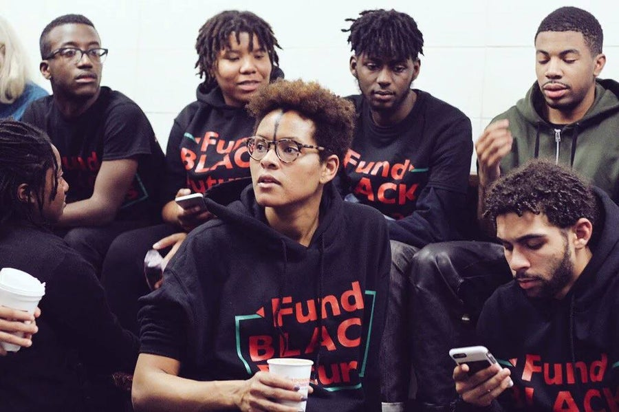 Image of Fund Black Futures Tee