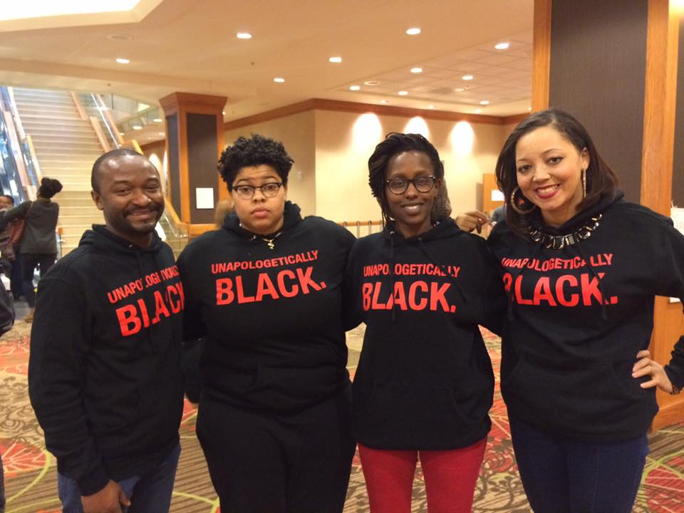 Image of Unapologetically Black Hoodie