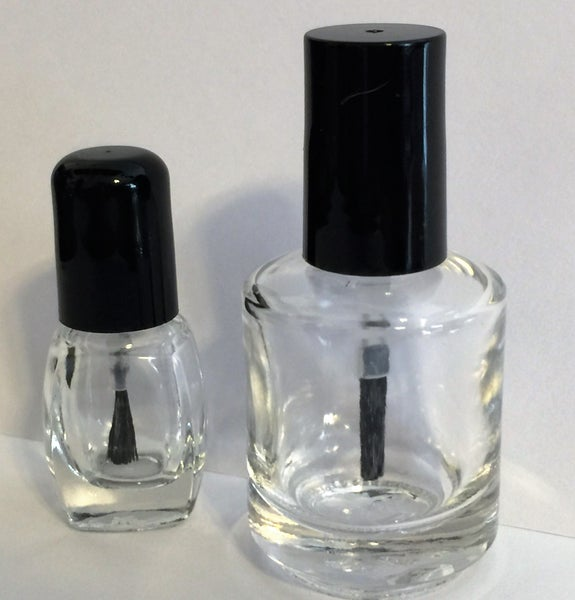 Image of Nail Polish Bottles </p> 2 Sizes Available