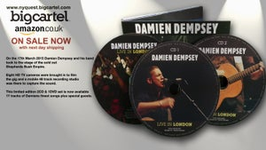 "Image of SALE WAS £16.99 NOW £9.99  Damien Dempsey ""Live In London"" Limited Edition Triple Disc CD/DVD"