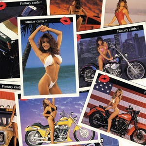 """Image of """"FANTAZY"""" SEXY LADIES TRADING CARDS"""