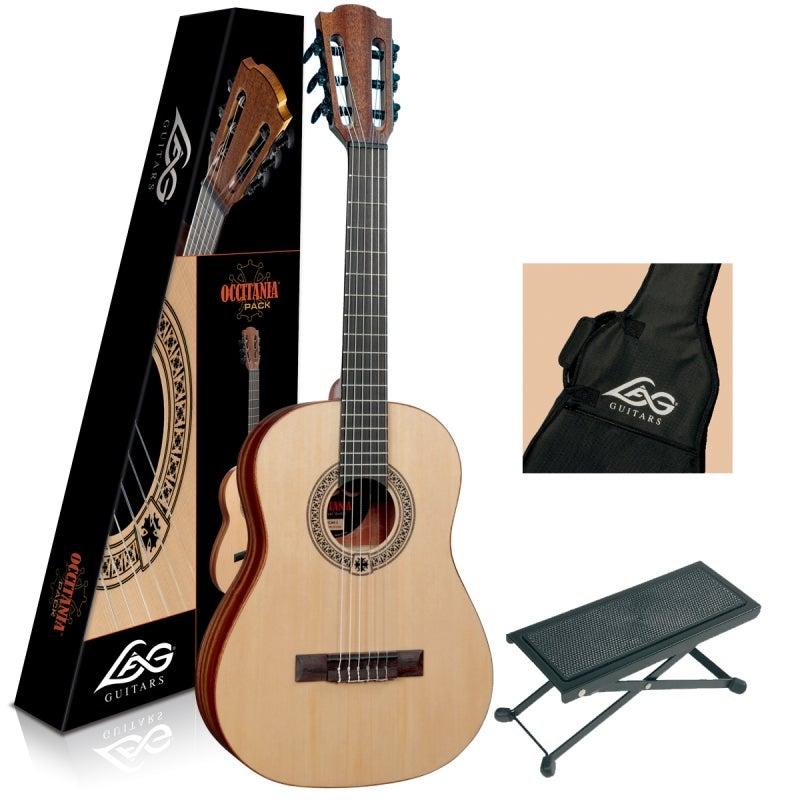 Lag Occitania OC44 3/4 Size Guitar Pack Includes Gigbag Foot Stool  sc 1 st  Zetnom Sounds & Zetnom Sounds u2014 Lag Occitania OC44 3/4 Size Guitar Pack Includes ... islam-shia.org