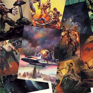 Image of FANTASY ART TRADING CARDS 1991 BORIS VALLEJO