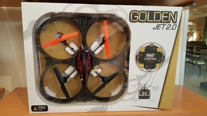 Image of Golden Jet 2.0- R/C Quadcopter