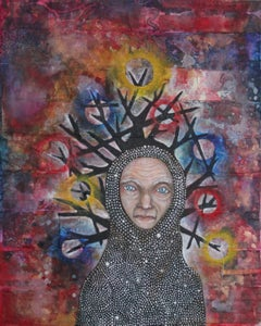 Image of Creative heART Challenge: The Crone Painting