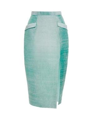 Sea Holly Skirt $490       - Melissa Bui