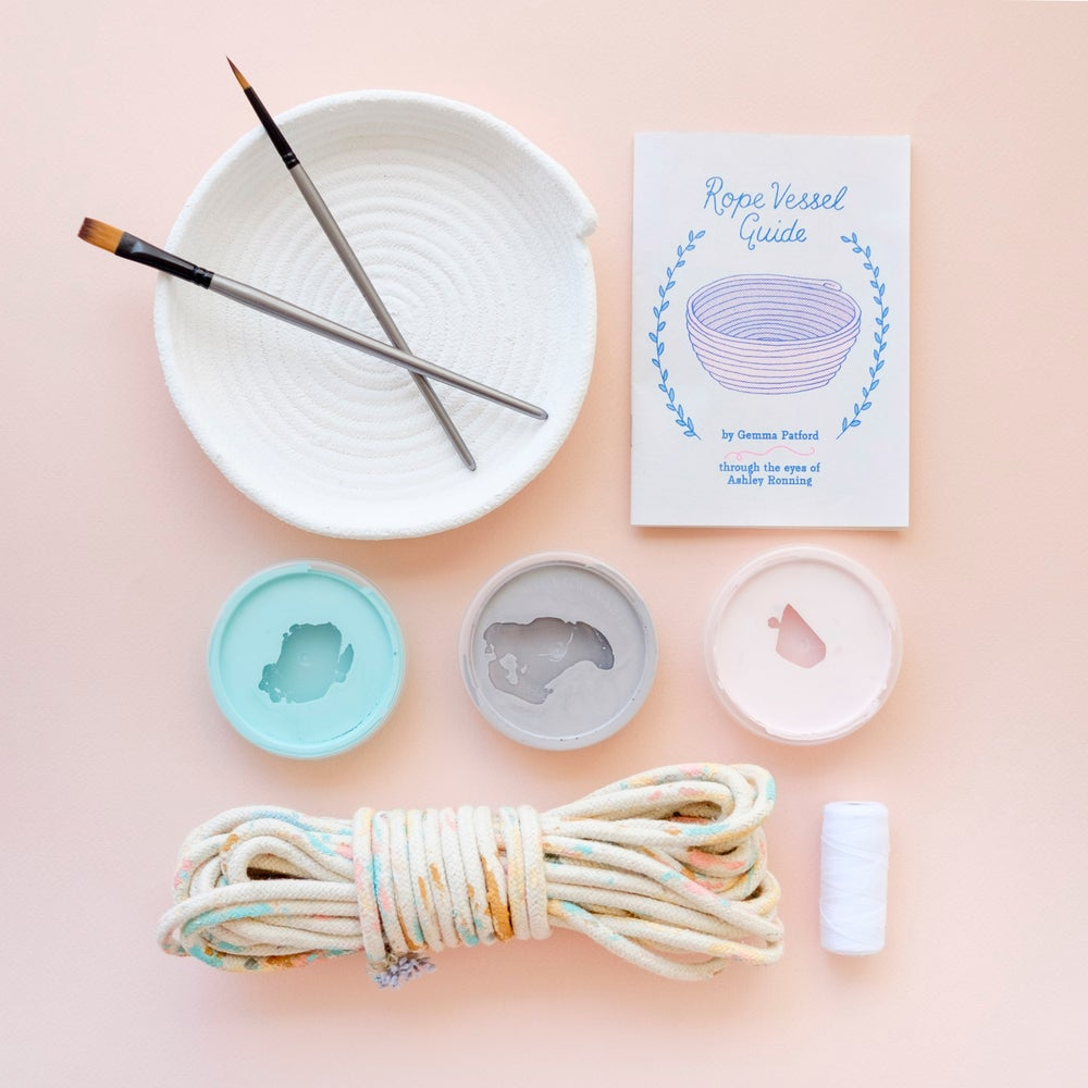Image of Create Your Own Rope Vessel Kit