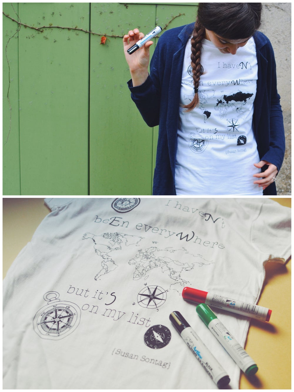 Image of T-SHIRT INK YOUR MAP