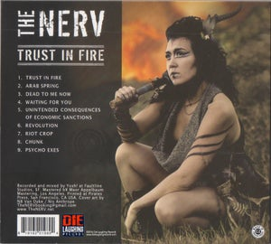Image of The Nerv TRUST IN FIRE / Format: CD digipack
