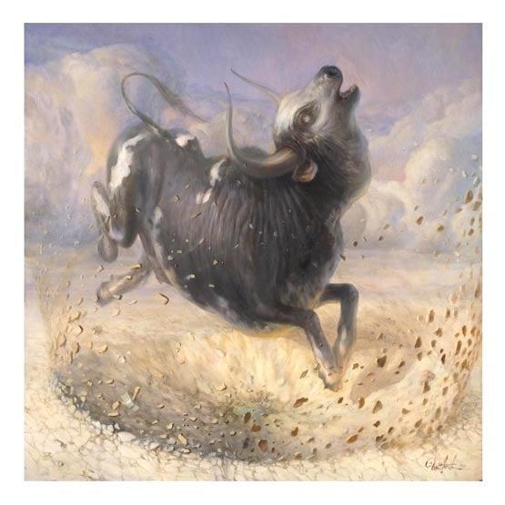 Image of Martin Wittfooth 'Ishkur' giclée print