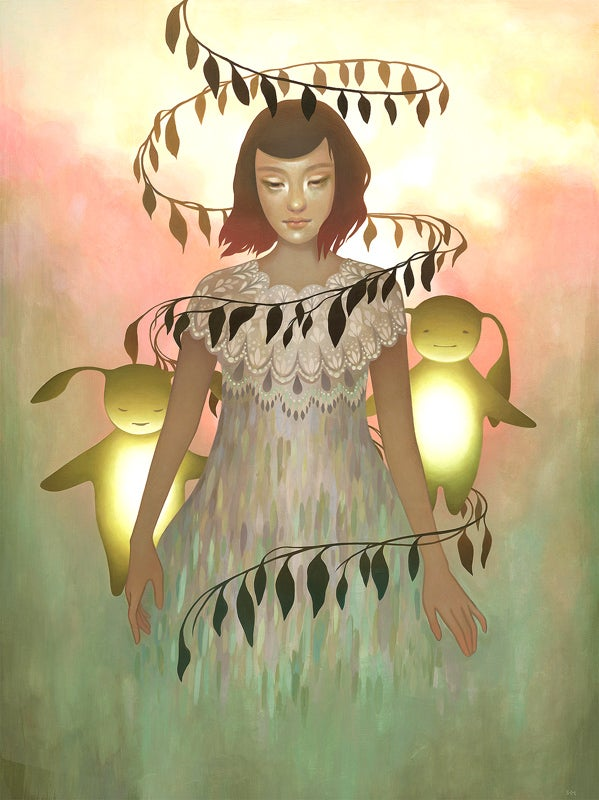 Image of Amy Sol 'Ver's Lantern' original art
