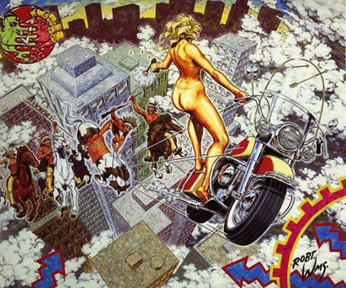 Image of Robert Williams 'Mathematics Takes A Holiday' silkscreen print