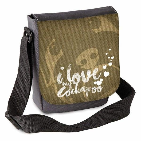 Image of 'I love my Cockapoo(s)' Mini Shoulder Bag