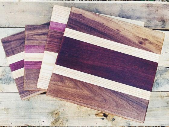 Image of Custom Stripe Bar Boards