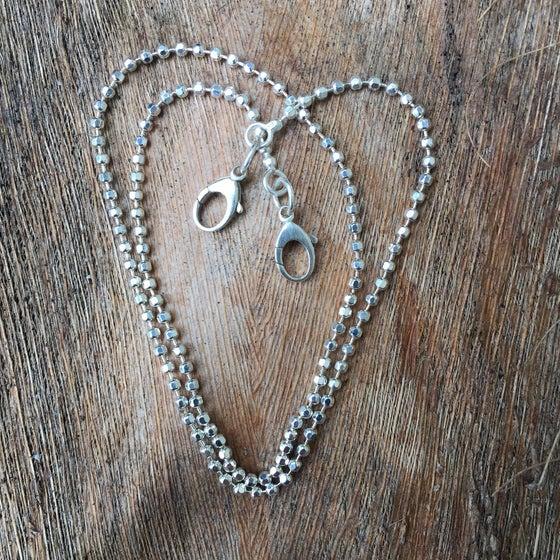 Image of Diamond Cut Ball Chain