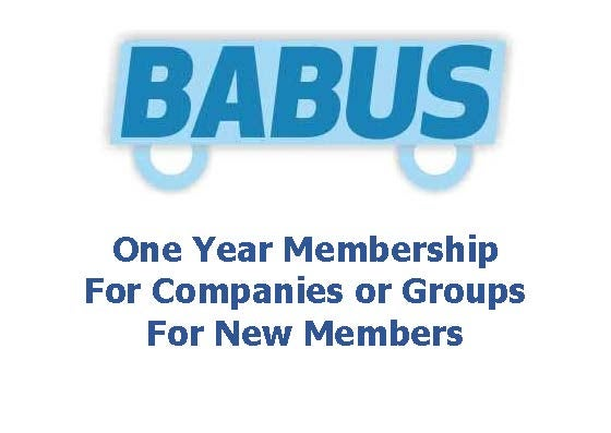 Image of New BABUS Membership - Companies or Groups - for one year to 31st March 2018
