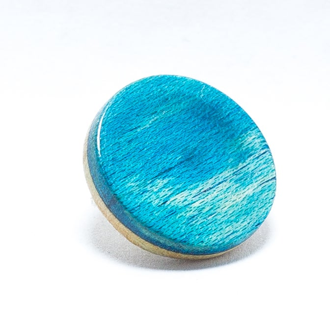 Image of Bright Blue Skateboard Ply