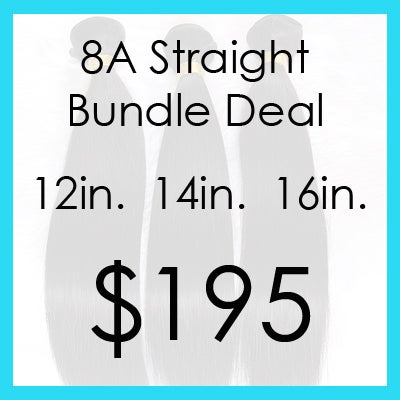 Image of 8A straight bundle $195.00