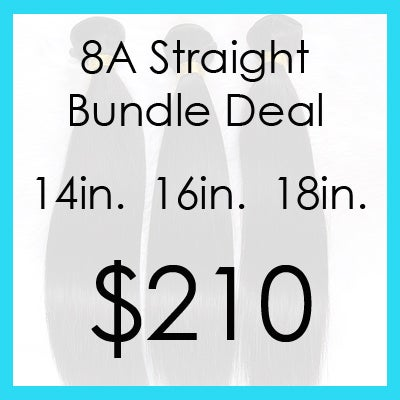 Image of 8A straight bundle $210.00