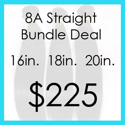 Image of 8A straight bundle $225.00