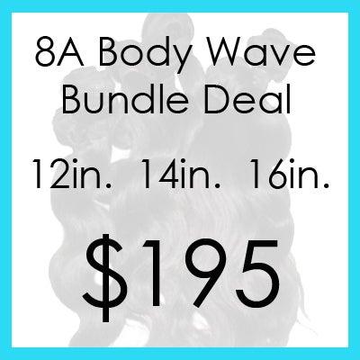 Image of 8A bodywave bundle $195.00