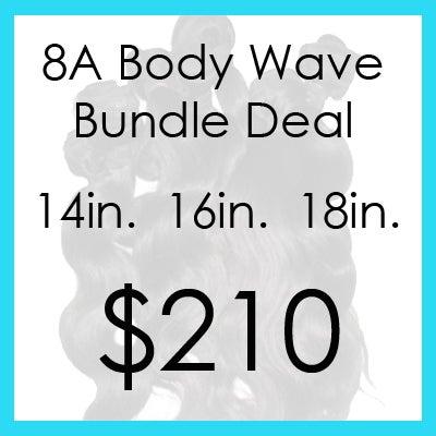 Image of 8A bodywave bundle $210.00