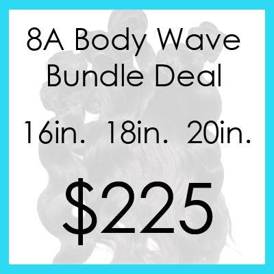 Image of 8A bodywave bundle $225.00