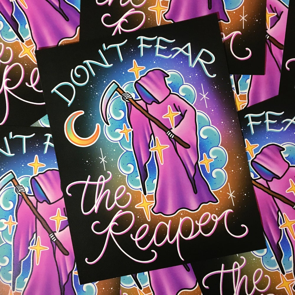 Image of 'Don't Fear The Reaper' - Limited Edition Print