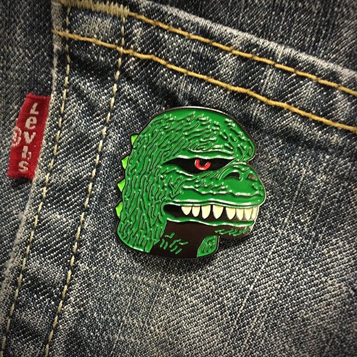 Image of Gojira Enamel Pin