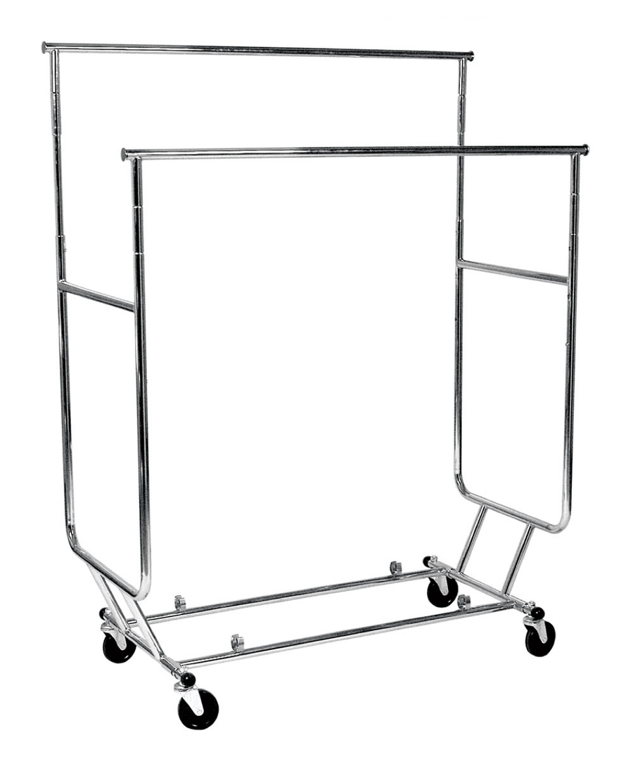 Image of Collapsible Salesman Rack Double Rail