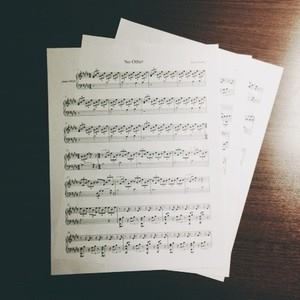 """Image of """"No Other"""" sheet music (PDF Download)"""