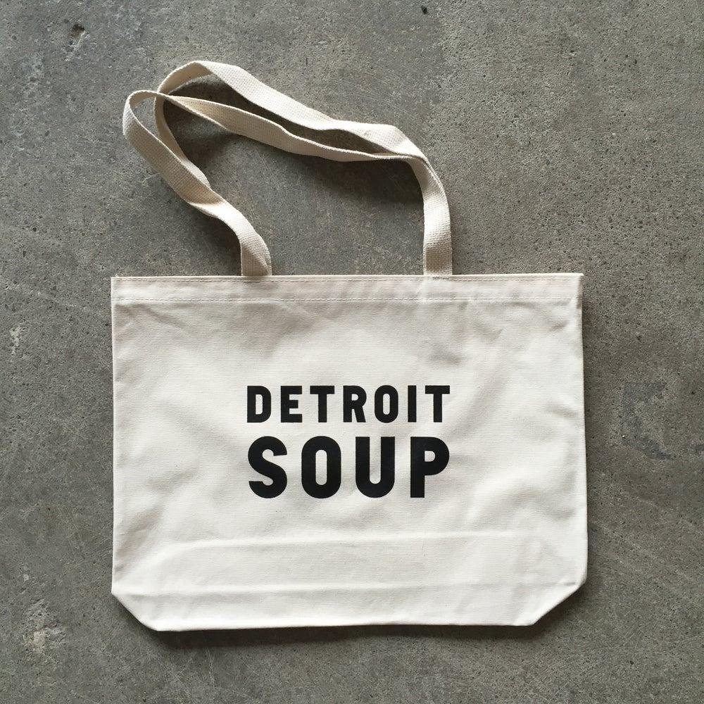 Image of Detroit SOUP Tote Bag