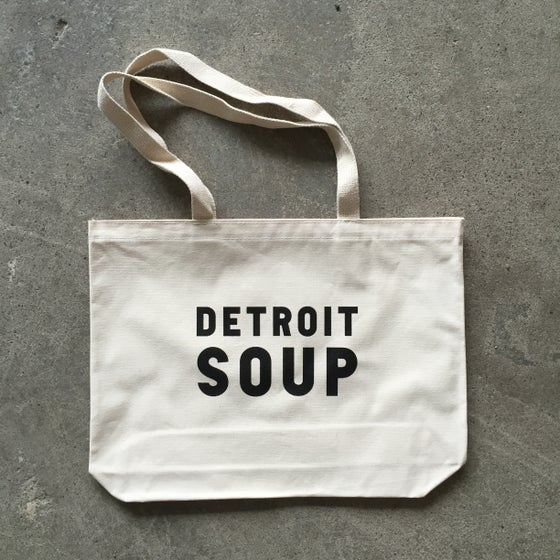 Image of Detroit SOUP Tote Bag