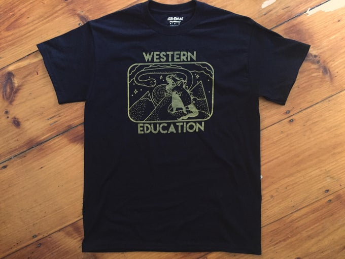 Image of Western Education Dino Shirt