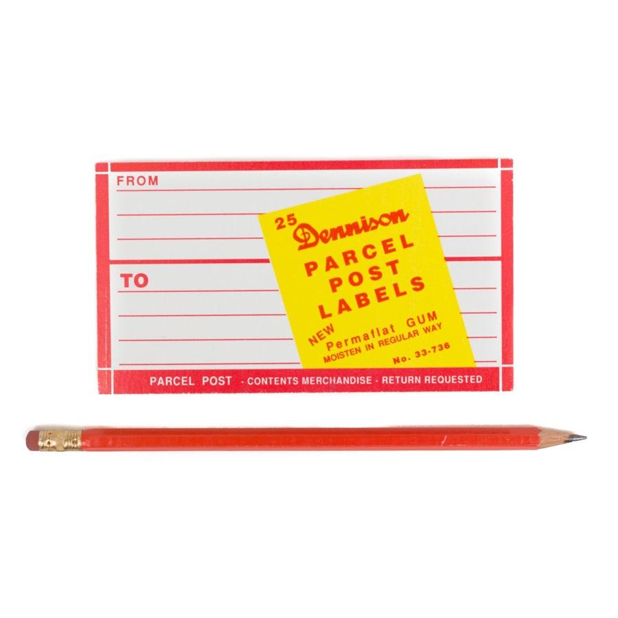 Image of Dennison Dark Pink Parcel Post Address Label Booklet