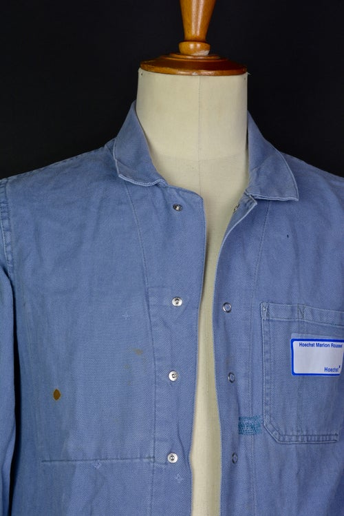 Image of 1960'S FRENCH grey WORK JACKET FADED N2