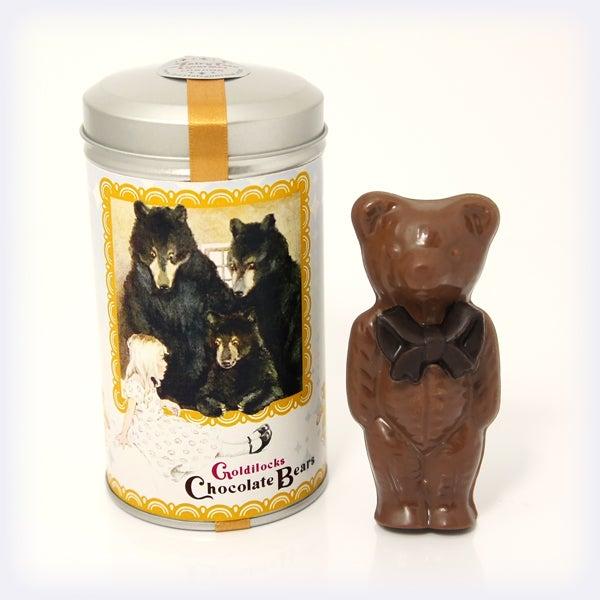 Image of Goldilocks Chocolate Bears 'Milk Chocolate & Honeycomb'