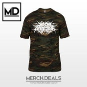 Image of Camouflage Logo Shirt