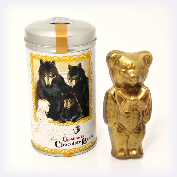 Image of Goldilocks Chocolate Bears 'Gold Special Edition'