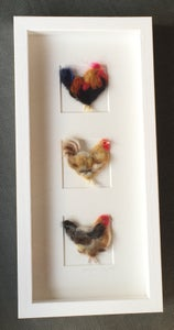 """Image of """"Three in a Box Chickens"""""""