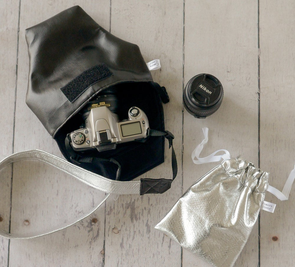 Image of  Soft Black Leatherette